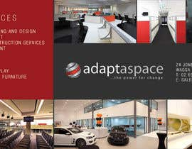 #6 pentru Graphic Design/ Marketing / Brochure Card for adaptaspace de către jtmarechal