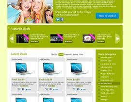 #59 untuk Website Design for TOTALFIVE.COM    (fiver clone) oleh Krishley