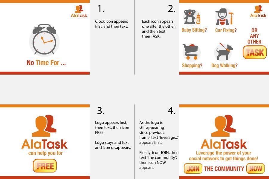 Inscrição nº 11 do Concurso para Banner Ad Design for AlaTask