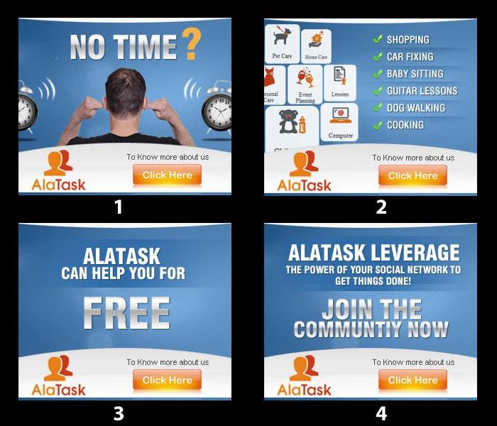 Конкурсная заявка №29 для Banner Ad Design for AlaTask