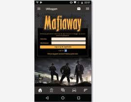 #43 para Maffia app landing page por felixdidiw