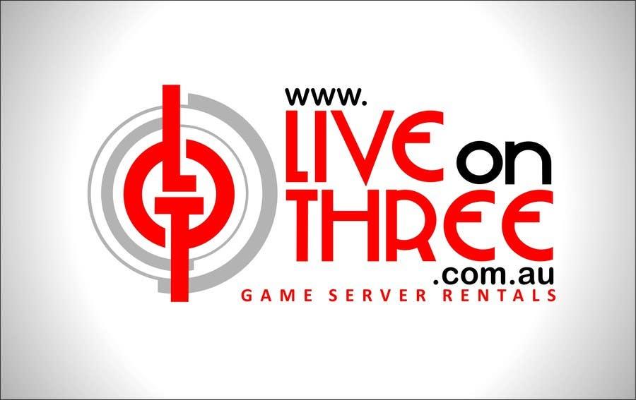 Inscrição nº                                         99                                      do Concurso para                                         Logo Design for www.liveonthree.com.au