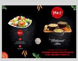 Nro 38 kilpailuun Design Resturant Menu Template käyttäjältä zestfreelancer