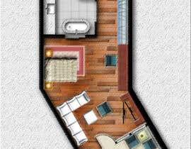 #26 for Hotel Rooms Illustration af abdomostafa2008