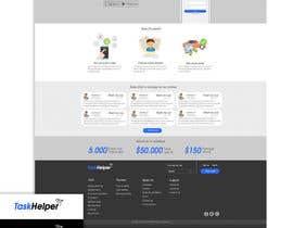 Nro 16 kilpailuun Design a Website+app Mockup käyttäjältä sN3k