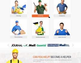 Nro 34 kilpailuun Design a Website+app Mockup käyttäjältä webgraphics007