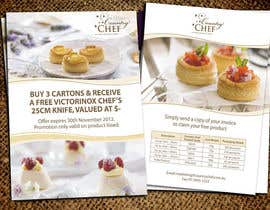 #45 untuk Flyer Design for Country Chef Desserts Pty Ltd oleh Jabinhossain