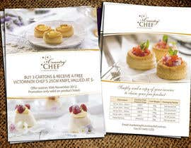 #47 untuk Flyer Design for Country Chef Desserts Pty Ltd oleh Jabinhossain