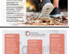#16 untuk Redesign et folder for en helseklinikk oleh JoaoPedroPereira