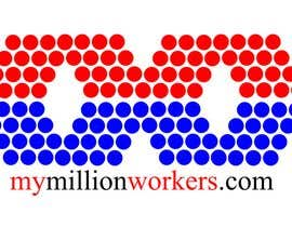 #207 for Logo Design for mymillionworkers.com af vrd1941