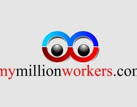 #210 , Logo Design for mymillionworkers.com 来自 vrd1941