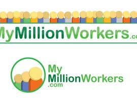 #48 for Logo Design for mymillionworkers.com by shmoggo