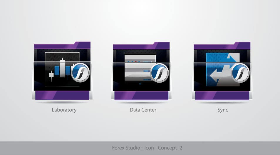 #195 for Application Icons for Forex Studio (Windows software) by TecImag