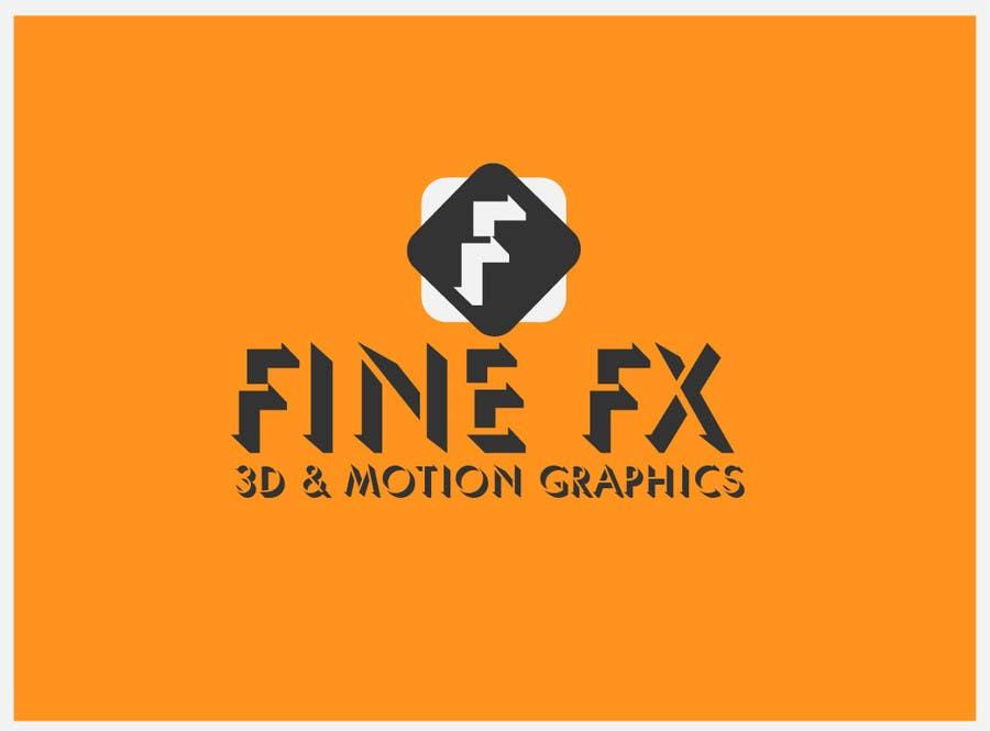 Bài tham dự cuộc thi #265 cho Logo Design for Fine FX | 3D & Motion Graphics