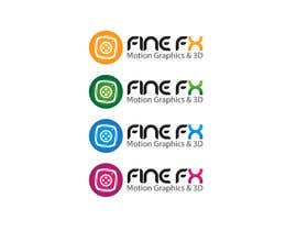 nº 146 pour Logo Design for Fine FX | 3D & Motion Graphics par udaya757
