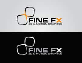 #98 para Logo Design for Fine FX | 3D & Motion Graphics por udaya757