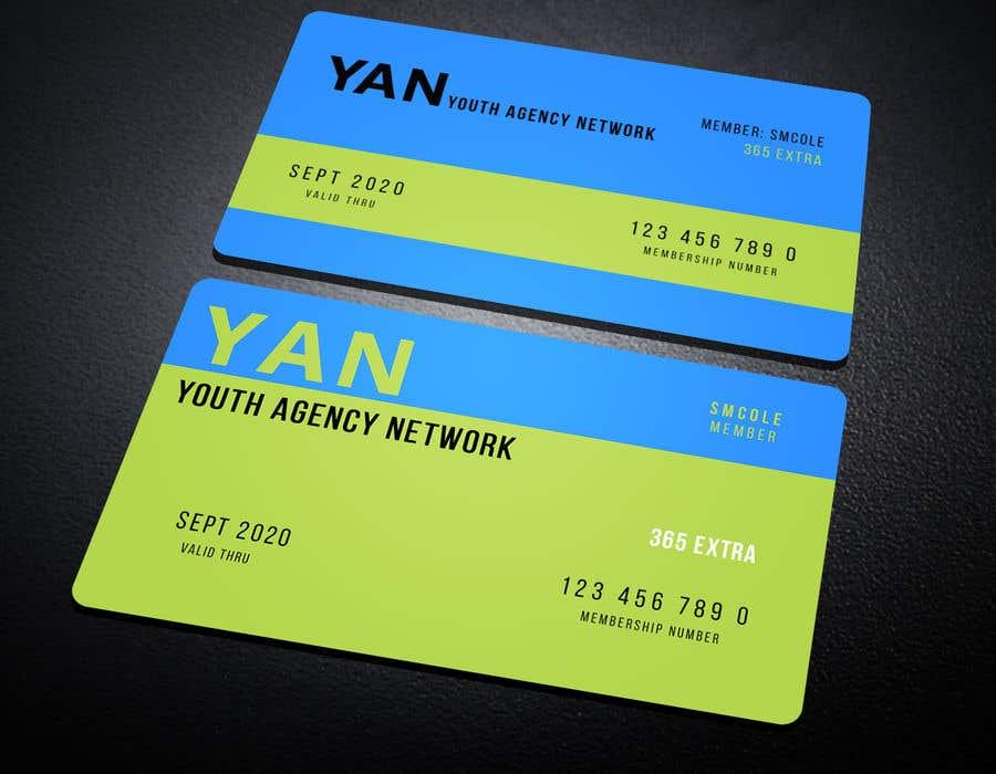 Entry #80 by Neamotullah for Membership Card Design | Freelancer