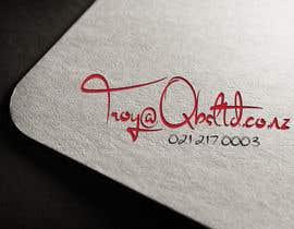 Nro 23 kilpailuun Design a custom business signature for email (Gmail) käyttäjältä ahimu