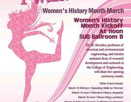 #29 para Graphic Design for TicketPrinting.com WOMEN'S HISTORY MONTH POSTER & EVENT TICKET por richhwalsh