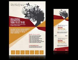 #12 pentru Graphic Design for TicketPrinting.com WOMEN'S HISTORY MONTH POSTER & EVENT TICKET de către thuanbui