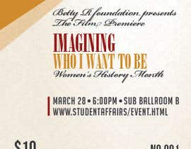 #10 for Graphic Design for TicketPrinting.com WOMEN'S HISTORY MONTH POSTER & EVENT TICKET by thuanbui