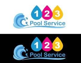 #182 para Pool Service 123 Logo de AbdelrahimAli