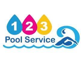 #191 para Pool Service 123 Logo de AbdelrahimAli