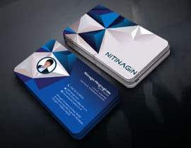 #49 para Design some Business Cards for Nitinagin de mrmridha1