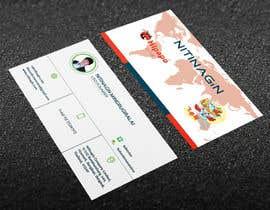 #33 para Design some Business Cards for Nitinagin de manjalahmed