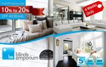 Graphic Design Konkurrenceindlæg #48 for Banner Ad Design for Blinds Emporium