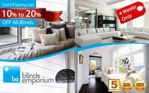 Graphic Design Konkurrenceindlæg #12 for Banner Ad Design for Blinds Emporium