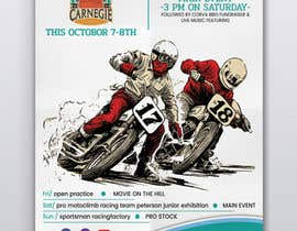 #23 untuk Design a poster for a motorsports event! oleh thranawins