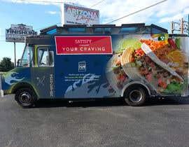 Sutanukajashu tarafından Create graphic design for Bon Appetit Food Truck Wrap için no 15