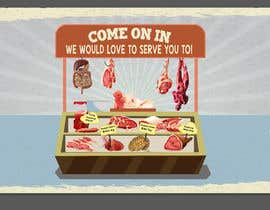 #16 for Large Poster Display Layout for a Cannibal Butcher Shop ( fictitious / not real ) by sevastitsavo
