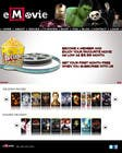 Contest Entry #47 for Website Design for eMovie - Online Movie Streaming