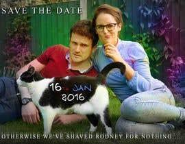 Hammada2000 tarafından Wedding invite photo with date shaved into the cat's fur - very unique brief! için no 69