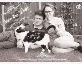 janisbendiks tarafından Wedding invite photo with date shaved into the cat's fur - very unique brief! için no 75