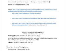 #13 for Research Writing for Gift Registry Market af Deepanshuv