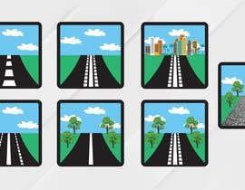 #9 para Design a set of road icons por zonicdesign