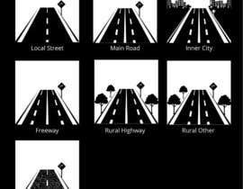#18 para Design a set of road icons por satishandsurabhi