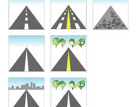 #22 para Design a set of road icons por juraana