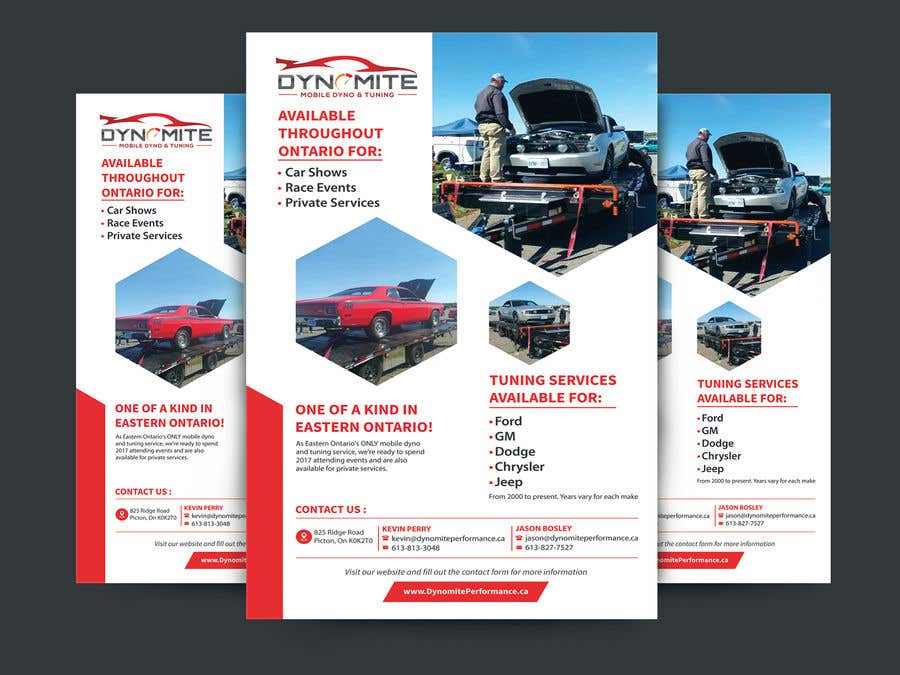 entry 103 by pixelgallery for one page flyer for car business