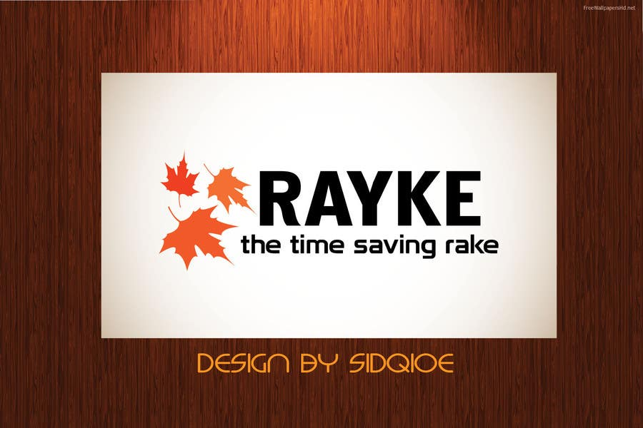 #91 for Graphic Design for Rayke - The Time saving rake by Sidqioe