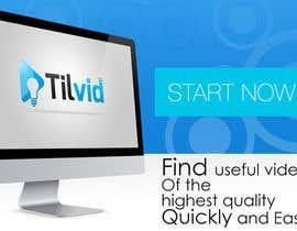 #14 para Design a Banner for Tilvid.com por charithonline