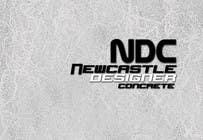 "Graphic Design Intrarea #78 pentru concursul ""Logo Design for Newcastle Designer Concrete"""