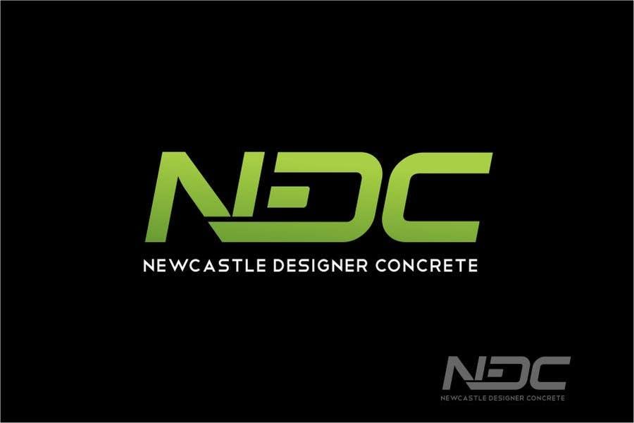 Intrare concurs #157 pentru Logo Design for Newcastle Designer Concrete