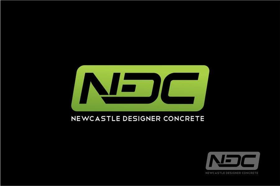"""Intrarea #151 pentru concursul """"Logo Design for Newcastle Designer Concrete"""""""
