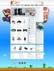 Graphic Design Inscrição do Concurso Nº21 para Website Design for RetroGaming Shop on Magento