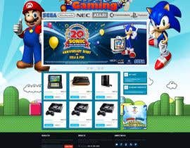 nº 24 pour Website Design for RetroGaming Shop on Magento par McFOX