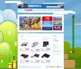 Graphic Design Inscrição do Concurso Nº10 para Website Design for RetroGaming Shop on Magento
